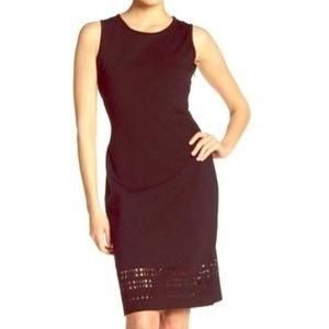 Amanda & Chelsea Sheath Dress-Lasercut Detail-NWT